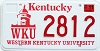 2000 Western Kentucky University graphic # 2812