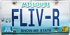 2000 Missouri Vanity graphic # FLIV-R