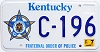 2001 Kentucky Fraternal Order of Police graphic # C-196