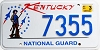 2001 Kentucky National Guard graphic # 7355