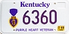 2001 Kentucky Purple Heart Veteran graphic # 6360