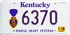 2001 Kentucky Purple Heart Veteran graphic # 6370