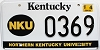 2001 Northern Kentucky University graphic # 369