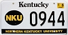 2001 Northern Kentucky University graphic # 944