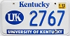 2001 University of Kentucky graphic # 2767