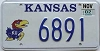 2002 Kansas University graphic # 6891