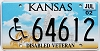 2002 Kansas Disabled Veteran graphic # 64612