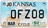 2002 Kansas Motorcycle graphic # OFZ08, Johnson County