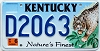 2002 Kentucky Lynx graphic # D2063