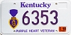 2002 Kentucky Purple Heart Veteran graphic # 6353