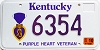 2002 Kentucky Purple Heart Veteran graphic # 6354