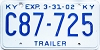 2002 Kentucky Trailer # C87-725