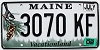 2002 Maine graphic # 3070-KF