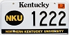 2002 Northern Kentucky University graphic # 1222