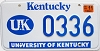 2002 University of Kentucky graphic # 336