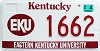 2003 Eastern Kentucky University graphic # 1662