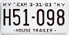 2003 Kentucky House Trailer # H51-098