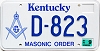 2003 Kentucky Masonic Order graphic # D-823