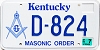 2003 Kentucky Masonic Order graphic # D-824