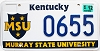 2003 Kentucky Murray State University graphic # 655
