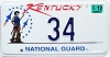 2003 Kentucky National Guard graphic Low # 34