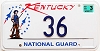 2003 Kentucky National Guard graphic low # 36