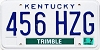 2003 Kentucky Temp Use # 456-HZG, Trimble County