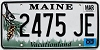 2003 Maine graphic # 2475-JE