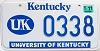 2003 University of Kentucky graphic # 338