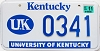 2003 University of Kentucky graphic # 341