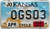 2004 Kansas Motorcycle graphic # OGS03, Johnson County