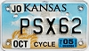 2005 Kansas Motorcycle graphic # PSX62, Johnson County