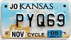 2005 Kansas Motorcycle graphic # PYQ69, Johnson County
