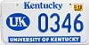 2005 University of Kentucky graphic # 346