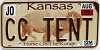 2006 Kansas Buffalo graphic # CC TENT, Johnson County