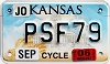 2006 Kansas Motorcycle graphic # PSF79, Johnson County