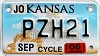 2006 Kansas Motorcycle graphic # PZH21, Johnson County