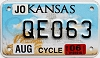 2006 Kansas Motorcycle graphic # QEO63, Johnson County
