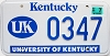 2006 University of Kentucky graphic # 347