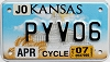 2007 Kansas Motorcycle graphic # PYV06, Johnson County