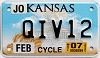 2007 Kansas Motorcycle graphic # QIV12, Johnson County