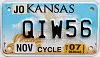 2007 Kansas Motorcycle graphic # QIW56, Johnson County