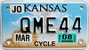 2008 Kansas Motorcycle graphic # QME44, Johnson County