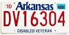 2009 Arkansas Disabled Veteran # 16304