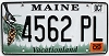 2009 Maine graphic # 4562-PL