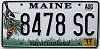 2011 Maine graphic # 8478 SC