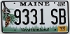 2011 Maine graphic # 9331 SB