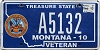 2013 Montana Army Veteran graphic # A5132