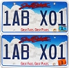 2014 South Dakota graphic pair # 1AB-X01