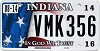 2014 Indiana In God We Trust graphic # VMK356